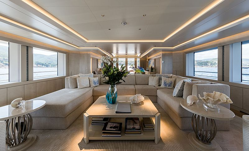 Yacht Volpini 2 interior