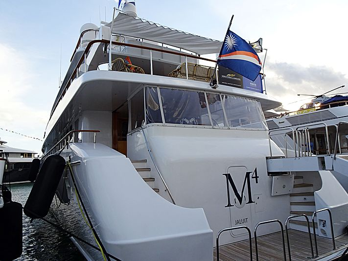 M4 yacht in Miami Island Gardens