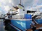 Shadow yacht in Miami Island Gardens