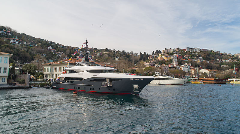 Starburst III yacht in Istanbul
