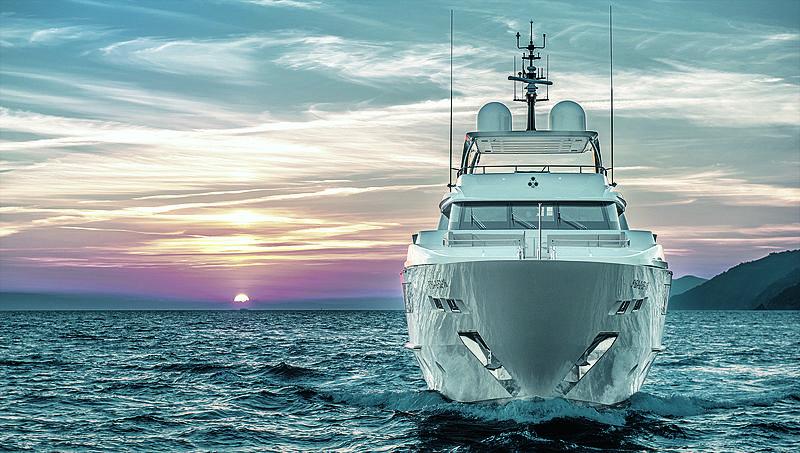 Takara yacht bow