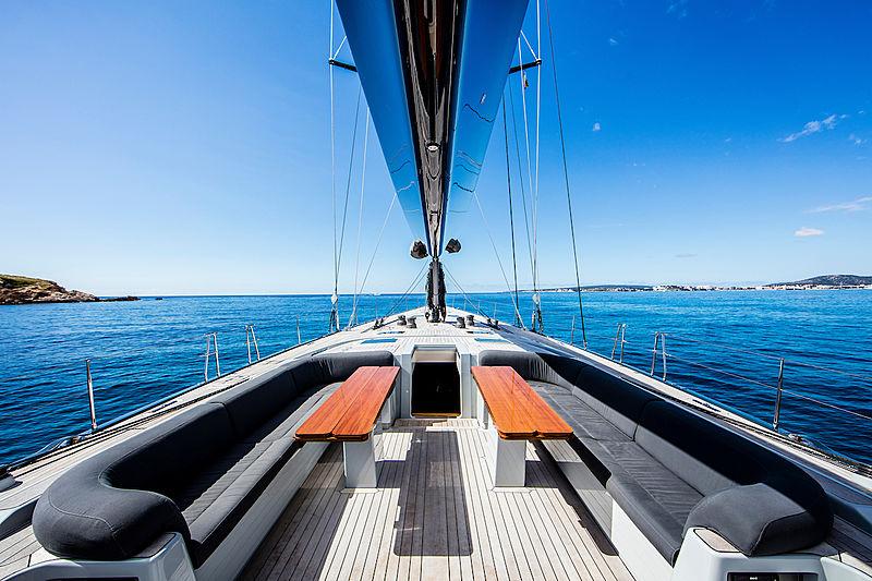 Hoppetosse yacht exterior