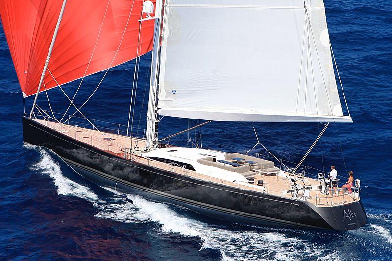 ALIX  yacht Nautor's Swan