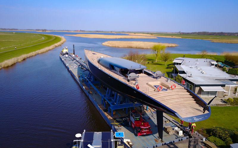 Ngoni yacht launch