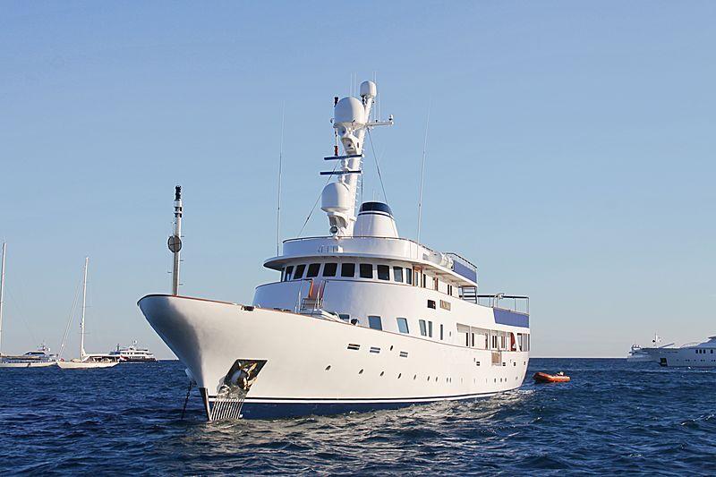 PALOMA yacht Ishikawajima-Harima Heavy Ind.