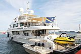Sofia yacht at the Cannes Yachting Festival