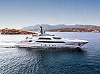 Galactica Star yacht exterior