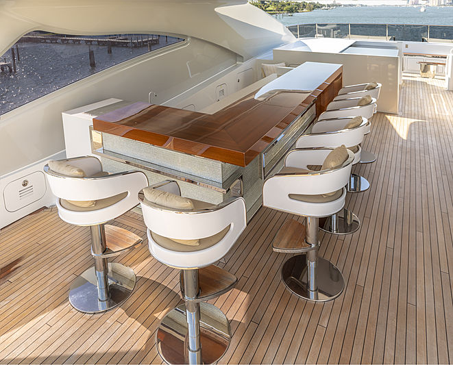 Yacht Galactica Star exterior