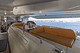 Galactica Star yacht garage