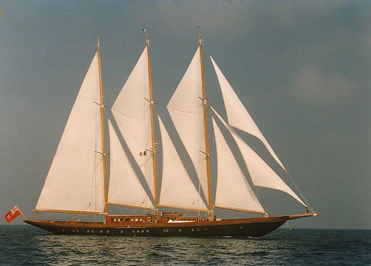 Mystery Yacht April
