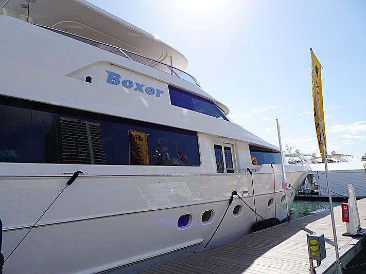 Boxer yacht in Miami Beach