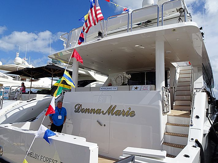 Donna Marie yacht in Miami Beach