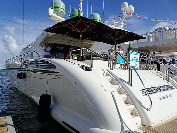 Encore yacht in Miami Beach