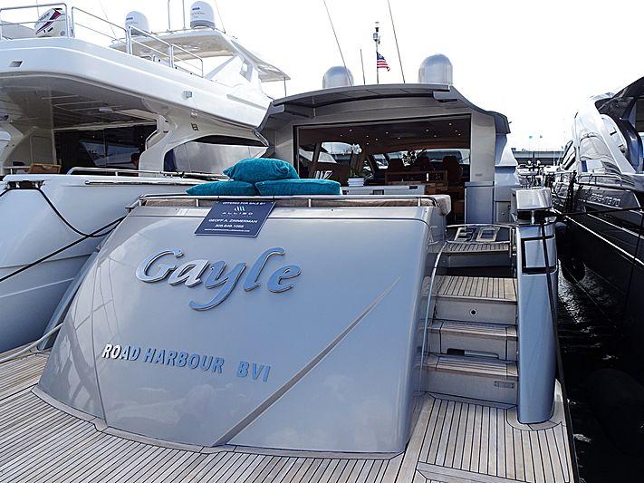 Gayle yacht in Miami Beach
