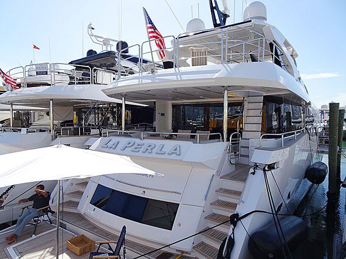 LA PERLA yacht Sunseeker