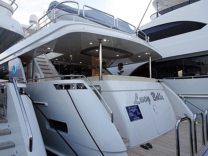 Lucy Belle yacht in Miami Beach