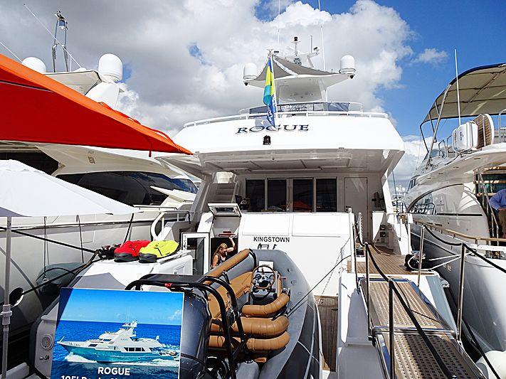 Rogue yacht in Miami Beach