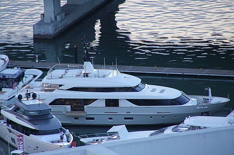 SanLorenzo SD112/69 yacht in Miami Beach