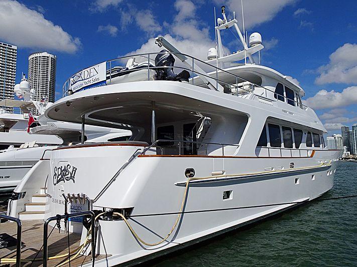 Splash yacht in Miami Beach