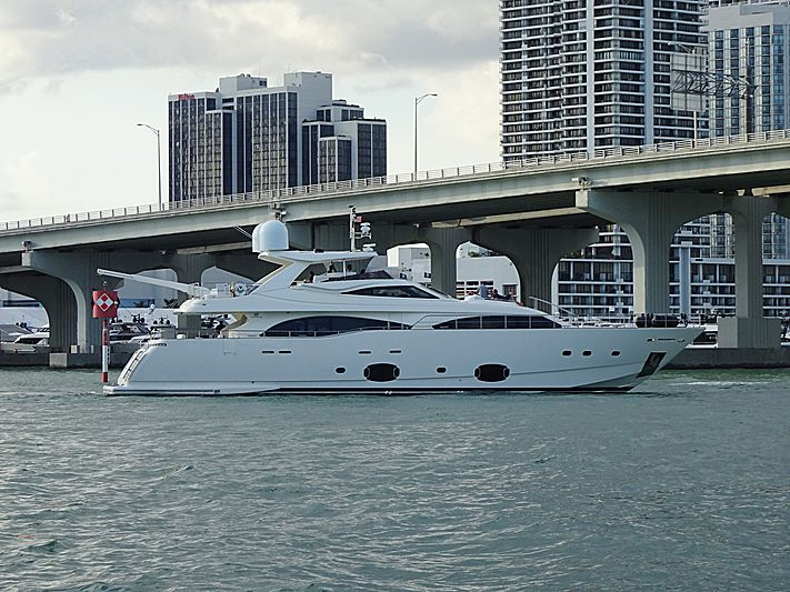 Soleado yacht in Miami Beach