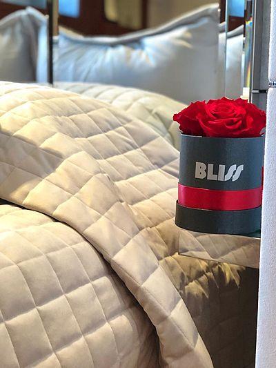 Bliss yacht interior detail
