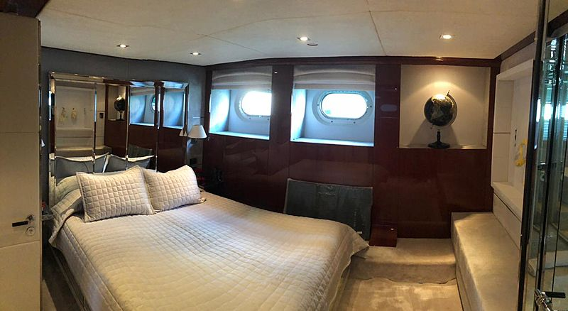 Bliss yacht stateroom