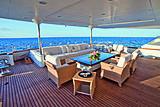 Lumiere yacht deck