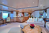 Lumiere yacht saloon