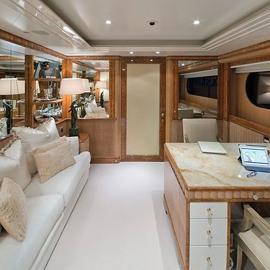Lumiere yacht interior