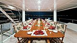 One More Toy yacht deck dining