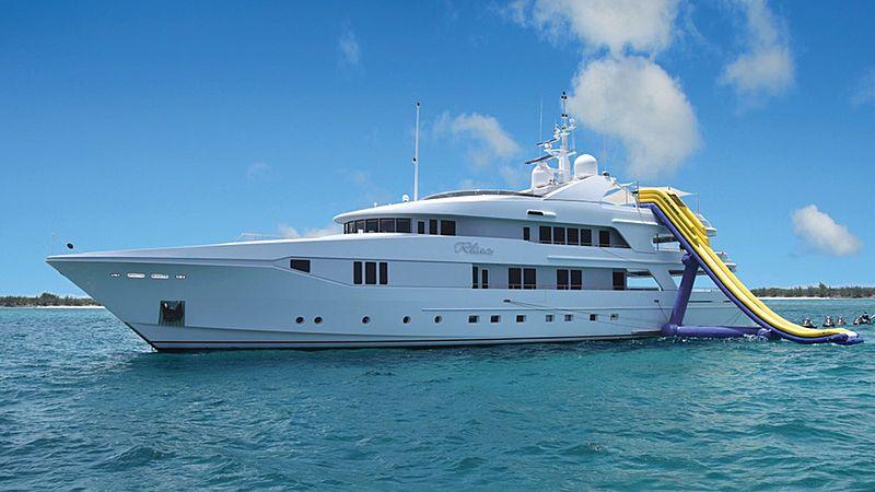 Rhino yacht anchored