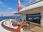 Serenity II yacht deck