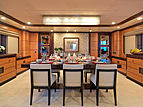 Serenity II yacht dining room