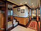 Serenity II yacht hall & staircase