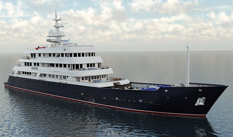 Simon Fraser yacht render