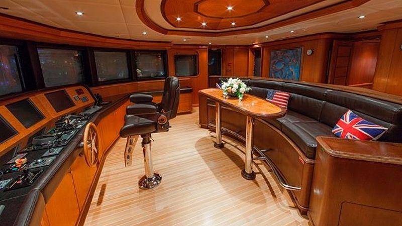 Skyfall yacht bridge