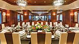 Skyfall yacht dining room