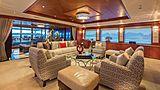Skyfall yacht saloon
