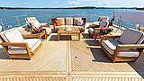 Skyfall yacht deck