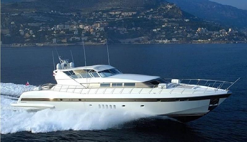 ANTARES K yacht Overmarine