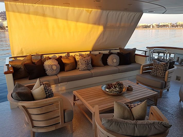 Awol yacht deck