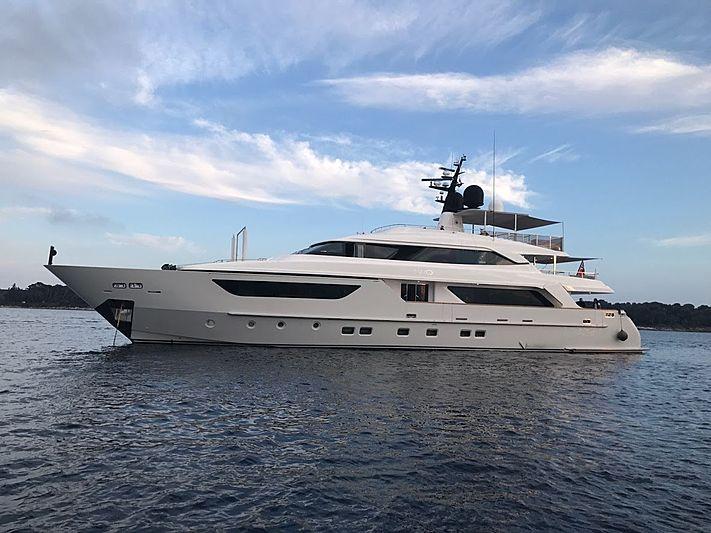 AWOL yacht Sanlorenzo