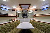 Blue Star yacht dining area