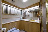 Blue Star yacht bathroom