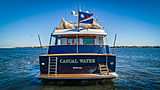 Casual Water yacht stern
