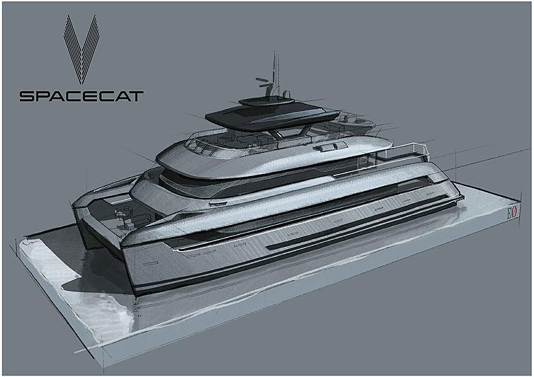SpaceCat yacht