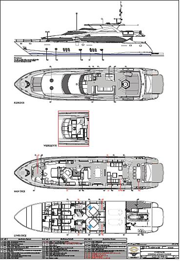 Ira yacht layout