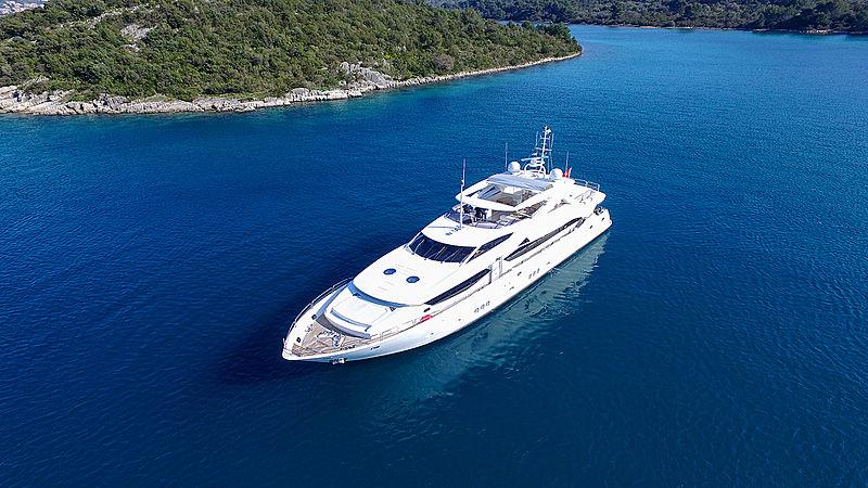 Ira yacht anchored