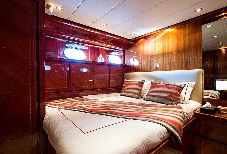 Kidi One yacht stateroom