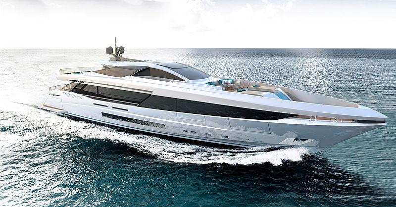 Mangusta GranSport 45 yacht by Overmarine